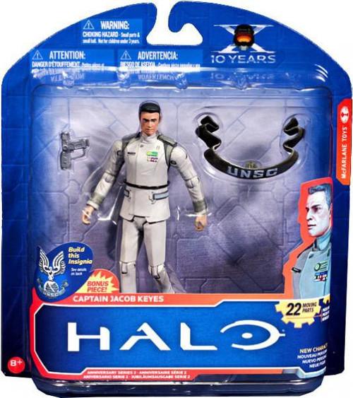 McFarlane Toys Halo 10th Anniversary Series 2 Captain Jacob Keyes Action Figure