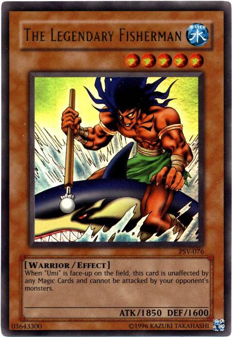 YuGiOh Pharaoh's Servant Ultra Rare The Legendary Fisherman PSV-076