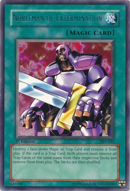 YuGiOh Pharaoh's Servant Rare Nobleman of Extermination PSV-035