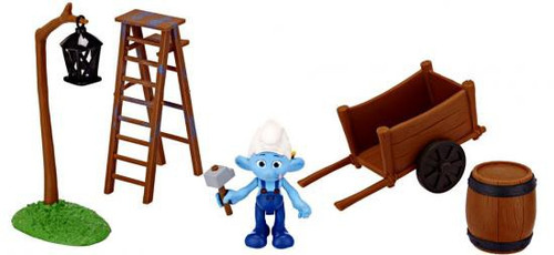 The Smurfs Movie Movie Moments Smurf Village Construction Figure Playset