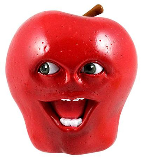 Annoying Orange Midget Apple 2 1/2-Inch PVC Figure [Talking]
