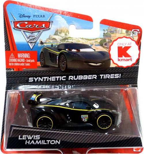 Disney Cars Cars 2 Synthetic Rubber Tires Lewis Hamilton Exclusive Diecast Car