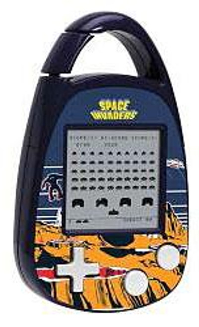 Carabiner Edition Space Invaders Electronic Handheld Game