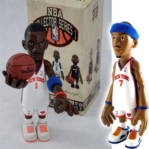 NBA Collector Series 1 Exclusive 4-Inch Mini Figure 5-Pack