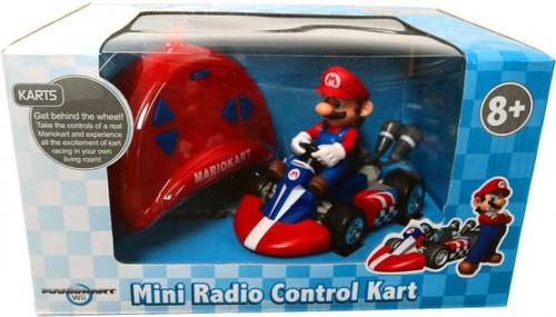 Super Mario Mario Kart Wii Mini Radio Control Kart Mario R/C Vehicle