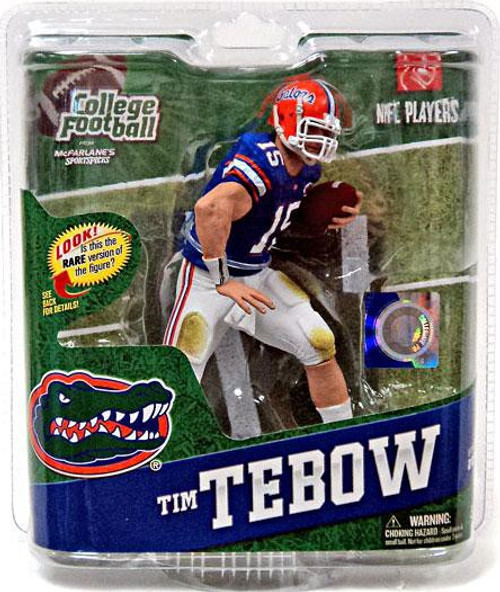 McFarlane Toys NCAA College Football Sports Picks Series 4 Tim Tebow Action Figure [Blue Jersey]