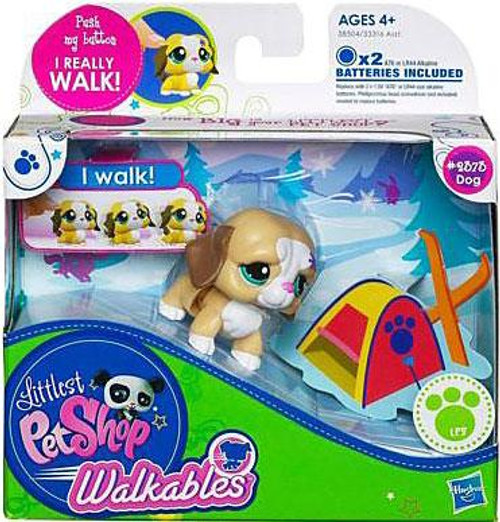 Littlest Pet Shop Walkables Dog Figure #2373 [Light Brown]