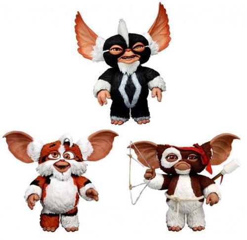 NECA Gremlins Mogwais Series 2 Set of 3 Action Figures