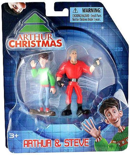 Arthur Christmas Arthur & Steve Mini Figure 2-Pack