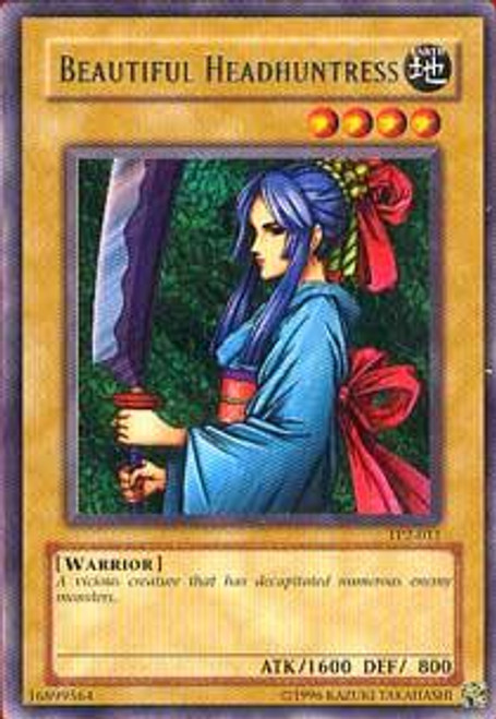 YuGiOh Tournament Pack 2 Rare Beautiful Headhuntress TP2-011