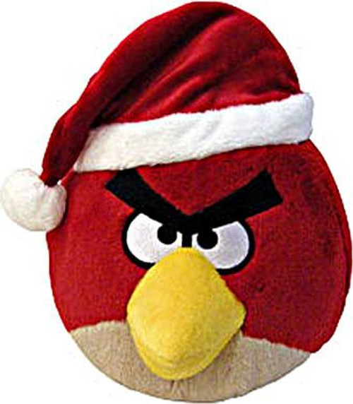 Angry Birds Red Bird 8-Inch Plush [Christmas]