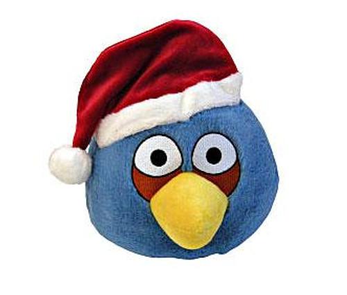 Angry Birds Blue Bird 5-Inch Plush [Christmas]