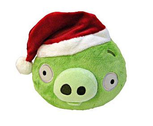 Angry Birds Green Pig 5-Inch Plush [Christmas]