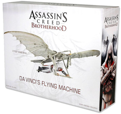 NECA Assassin's Creed Brotherhood Davinci's Flying Machine Exclusive Action Figure Vehicle