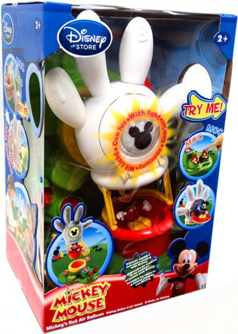 Disney Mickey Mouse Clubhouse Mickey's Hot Air Balloon Exclusive Playset