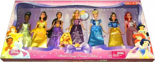 Ultimate Disney Princess Collection Exclusive Doll Set