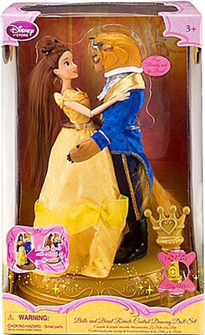 Disney Princess Beauty and the Beast Remote Control Dancing Exclusive 11.5-Inch Doll Set
