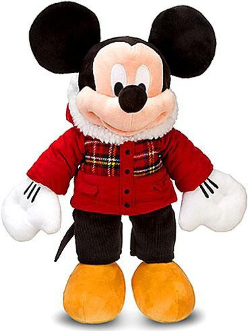 Disney Holiday Plaid Mickey Mouse Exclusive 18-Inch Plush