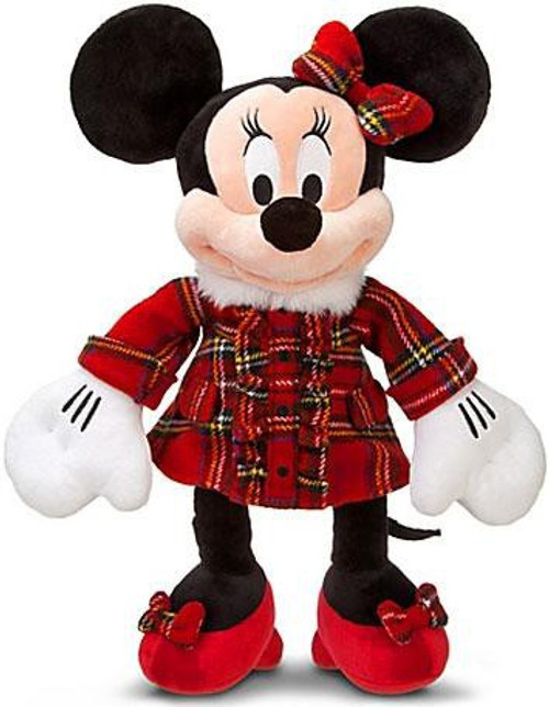 Disney Mickey Mouse Holiday Plaid Minnie Mouse Exclusive 18-Inch Plush
