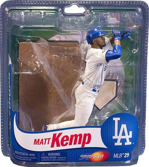 McFarlane Toys MLB Los Angeles Dodgers Sports Picks Series 29 Matt Kemp Action Figure