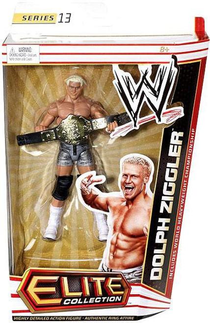 WWE Wrestling Elite Series 13 Dolph Ziggler Action Figure [World Heavyweight Championship]