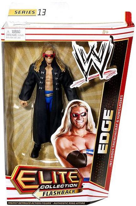WWE Wrestling Elite Series 13 Edge Action Figure [Trenchcoat & Sunglasses]