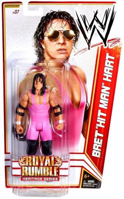 "WWE Wrestling Series 14 Bret ""Hit Man"" Hart Action Figure #7"