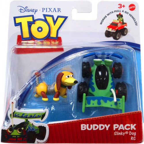 Toy Story Action Links Buddy Pack Slinky Dog & RC Mini Figure 2-Pack