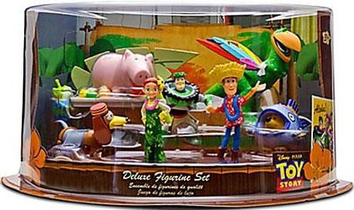 Disney Toy Story Hawaiian Vacation Deluxe Figurine Set Exclusive