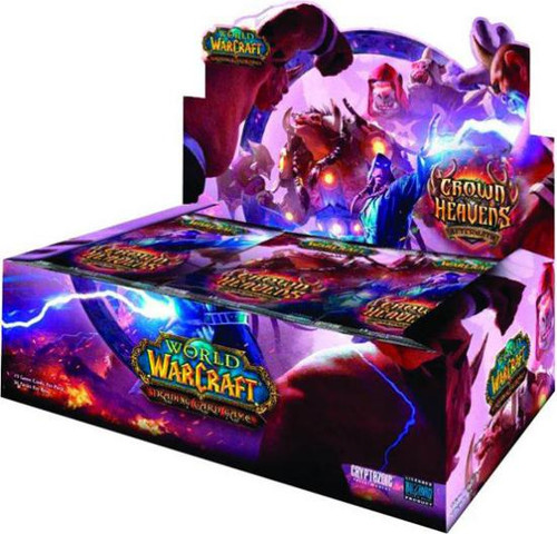 World of Warcraft Trading Card Game Crown of the Heavens Booster Box
