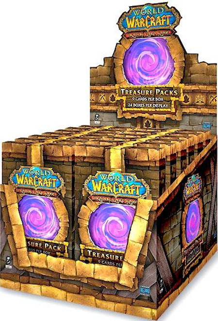 Trading Card Game World of Warcraft Treasure Pack Box