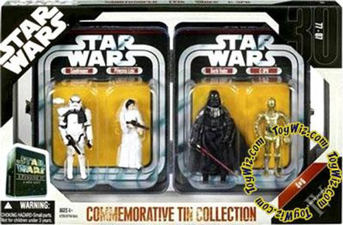 Star Wars A New Hope Exclusives 2006 Episode IV Commemorative Tin Collection Exclusive Action Figure Set #4 of 6