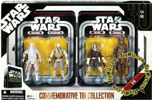Star Wars The Empire Strikes Back Exclusives 2006 Episode V Commemorative Tin Collection Exclusive Action Figure Set #5 of 6