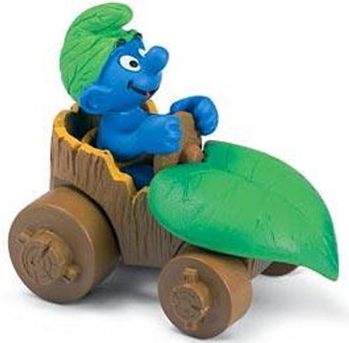 The Smurfs Smurf in Car Mini Figure