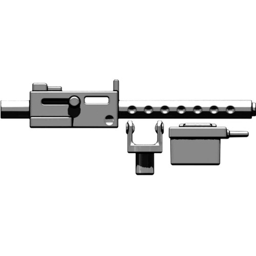 BrickArms Weapons M1919 Machine Gun 2.5-Inch [Titanium]