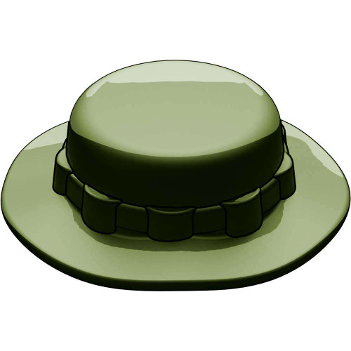 BrickArms Headgear Boonie Hat 2.5-Inch [Dark Olive Green]