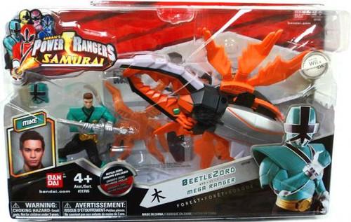 Power Rangers Samurai BeetleZord & Mega Ranger Forest Action Figure