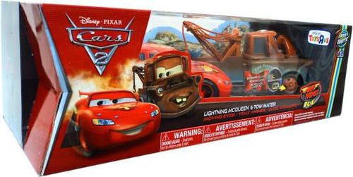 Disney Cars Cars 2 Air Hogs R/C Lightning McQueen & Tow Mater Exclusive Remote Control Cars [Moving Eyes]