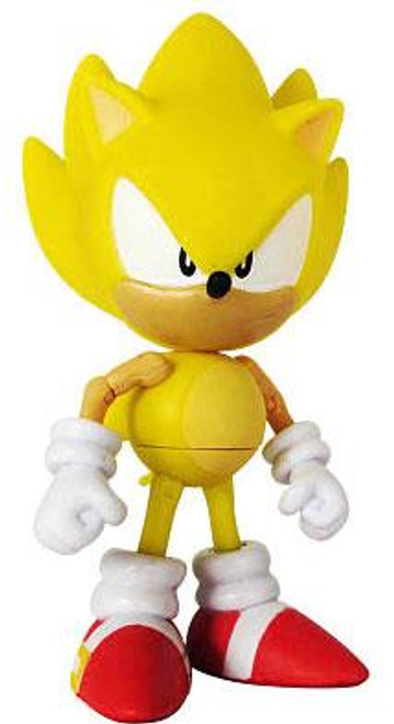 Sonic The Hedgehog 20th Anniversary Sonic Through Time Super Sonic Action Figure [Classic Loose]