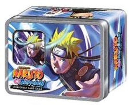 """Shippuden Card Game Rebirth Naruto's """"Toad Sages"""" Collector Tin"""