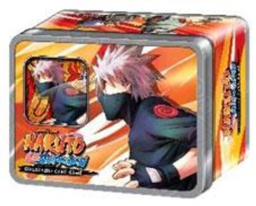 "Naruto Shippuden Card Game Rebirth Kakashi's ""Eight Ninja Dogs"" Collector Tin"