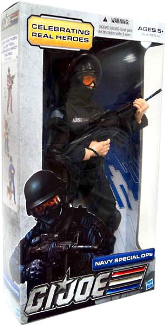 GI Joe Celebrating Real Heroes Navy Special Ops 12 Inch Action Figure