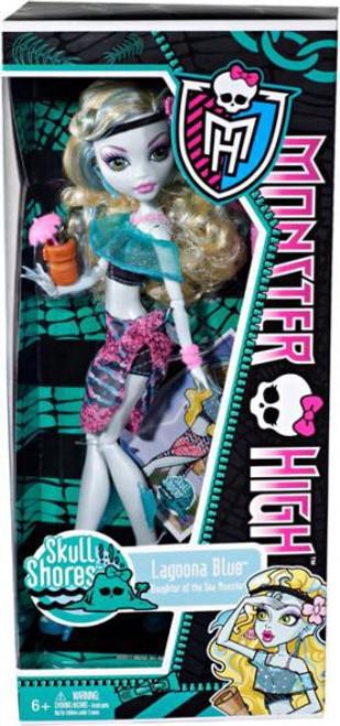 Monster High Skull Shores Lagoona Blue 10.5-Inch Doll