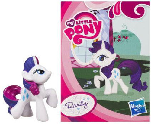 My Little Pony Series 1 Rarity 2-Inch PVC Figure