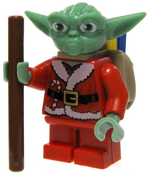 LEGO Star Wars The Clone Wars Santa Yoda Minifigure [Loose]