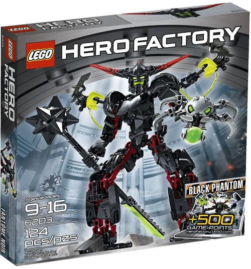 LEGO Hero Factory Black Phantom Set #6203