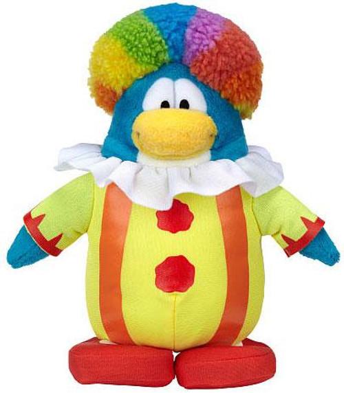 Club Penguin Series 15 Clown 6.5-Inch Plush Figure