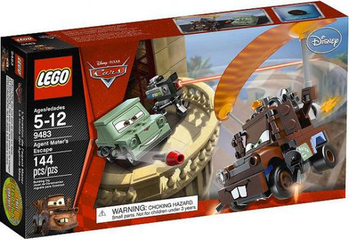 LEGO Disney Cars Agent Mater's Escape Set #9483