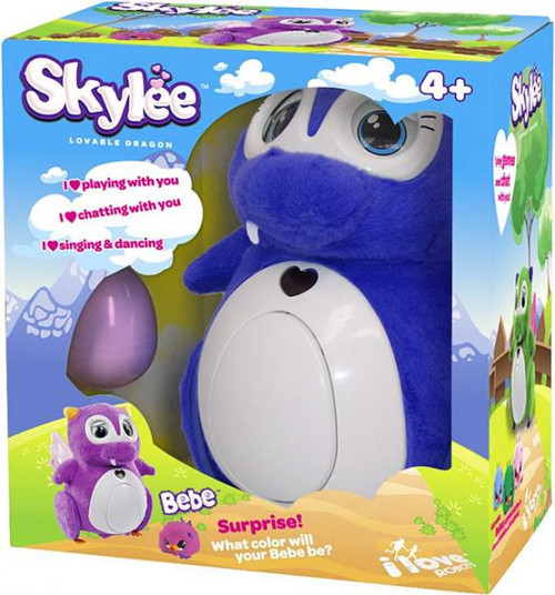 Penbo Lovable Dragon Interactive Robot [Purple]
