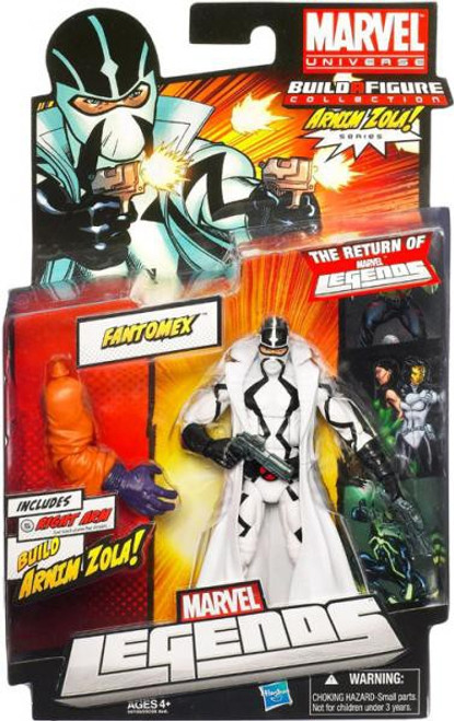 Marvel Legends 2012 Series 2 Arnim Zola Fantomex Action Figure